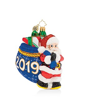 Christopher Radko - Santa's 2019 Delivery! Ornament