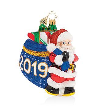 Christopher Radko - Santa's 2019 Delivery! Ornament