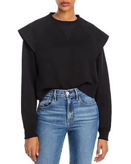 Rebecca Minkoff - Zenya Flared-Shoulder Sweatshirt