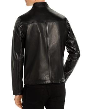 KARL LAGERFELD Paris - Leather Racer Jacket