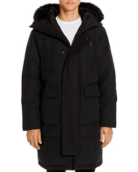 KARL LAGERFELD Paris - Faux Fur-Trimmed Long Parka