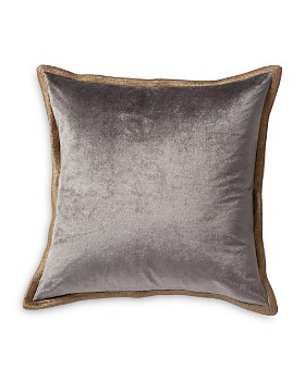 "Michael Aram - Velvet Metallic Embroidered Decorative Pillow, 18"" x 18"""
