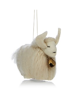 TO THE MARKET - Felt Yak Ornament