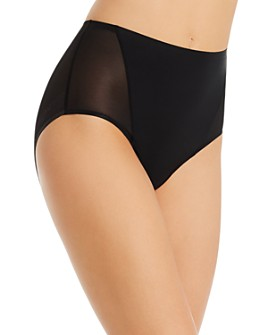 TC Fine Intimates - Mesh & Micro High-Rise Briefs