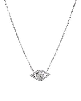 "Bloomingdale's - Diamond Pendant Necklace in Sterling Silver, 0.21 ct. t.w., 18"" - 100% Exclusive"