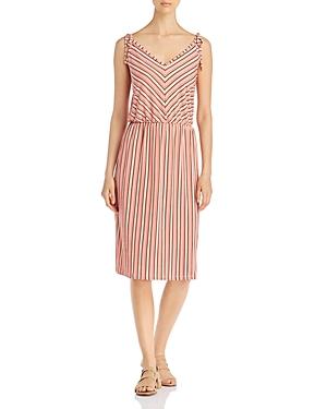 Leota Irene Sleeveless Striped Dress
