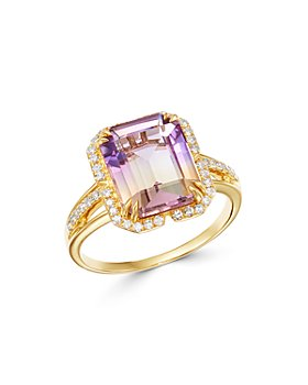 Bloomingdale's - Ametrine & Diamond Ring in 14K Yellow Gold - 100% Exclusive