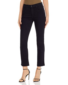 MOTHER - The Dazzler Ankle Straight-Leg Jeans in Not Guilty