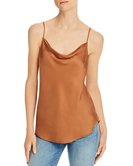 7 For All Mankind - Cowl-Neck Camisole Top