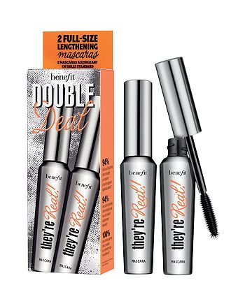 Benefit Cosmetics - They're Real! Lengthening & Volumizing Mascara Double Deal Gift Set ($50 value)