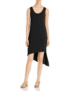 Cupio - Sleeveless Asymmetric-Hem Dress