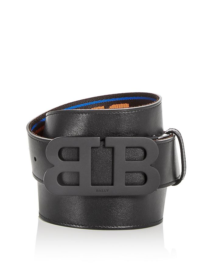 Bally - Men's Mirror B Buckle Reversible Leather Belt