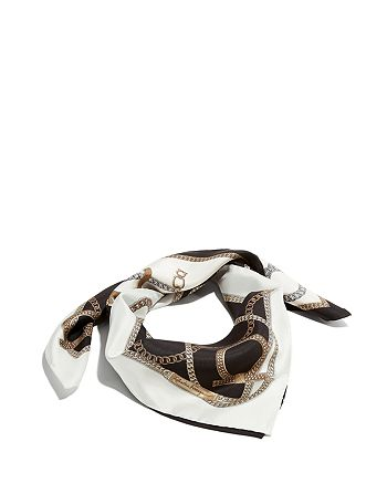 Salvatore Ferragamo - Chains Silk Scarf