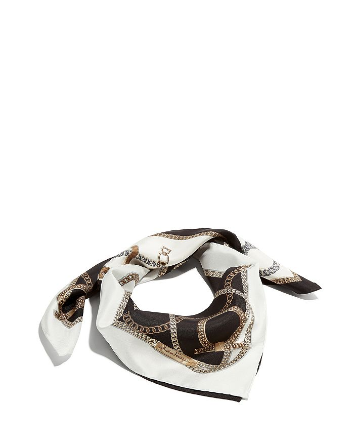 Salvatore Ferragamo - Chains Silk Scarf