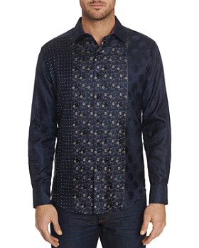 Robert Graham - Limited Edition Pattern-Block Classic Fit Shirt