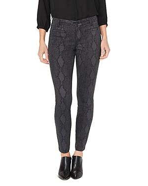 Nydj Ami Tailored Welt-Pocket Skinny Jeans in Diamondback