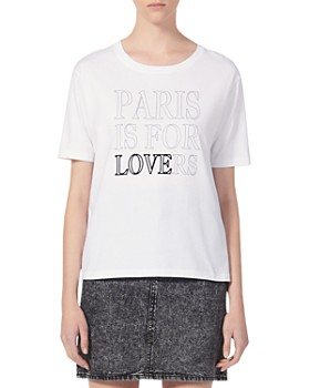 Sandro - Paris Is For Lovers Graphic Tee