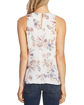 VINCE CAMUTO - Floral Print Top