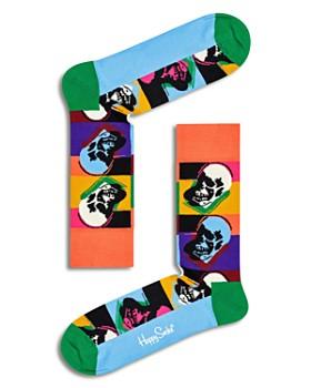 Happy Socks - Andy Warhol Skull Socks