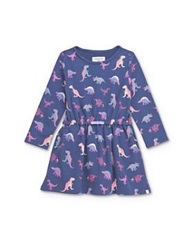 Sovereign Code - Girls' Frederica Dinosaur Print Dress - Little Kid