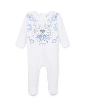 Kenzo - Boys' Tiger & Logo One-Piece Pajamas - Baby
