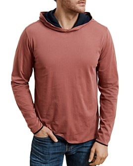 Velvet by Graham & Spencer - Nickolas Reversible Long-Sleeve Hooded Tee