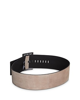 BCBGMAXAZRIA - Nubuck Leather Belt