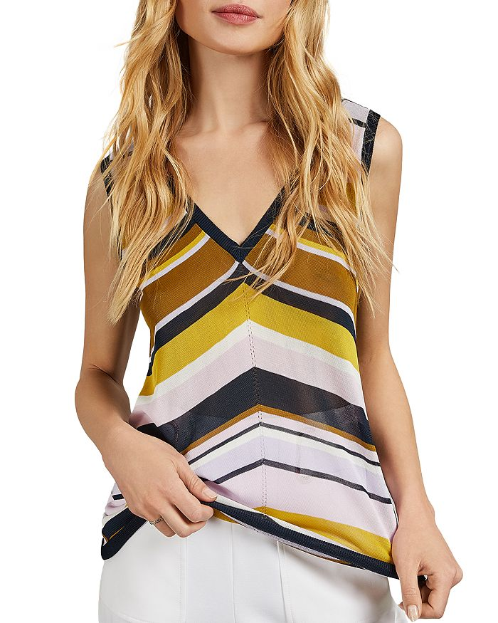 Ted Baker - Leannah Striped Knit Tank