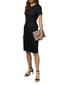 Ted Baker - Elynah Asymmetric Peplum Dress
