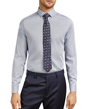 Ted Baker - Macaron Phormal Geo Print Slim Fit Shirt