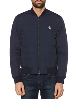 Original Penguin - Quilted Bomber Jacket - 100% Exclusive