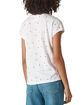 Whistles - Scattered Hearts Tee