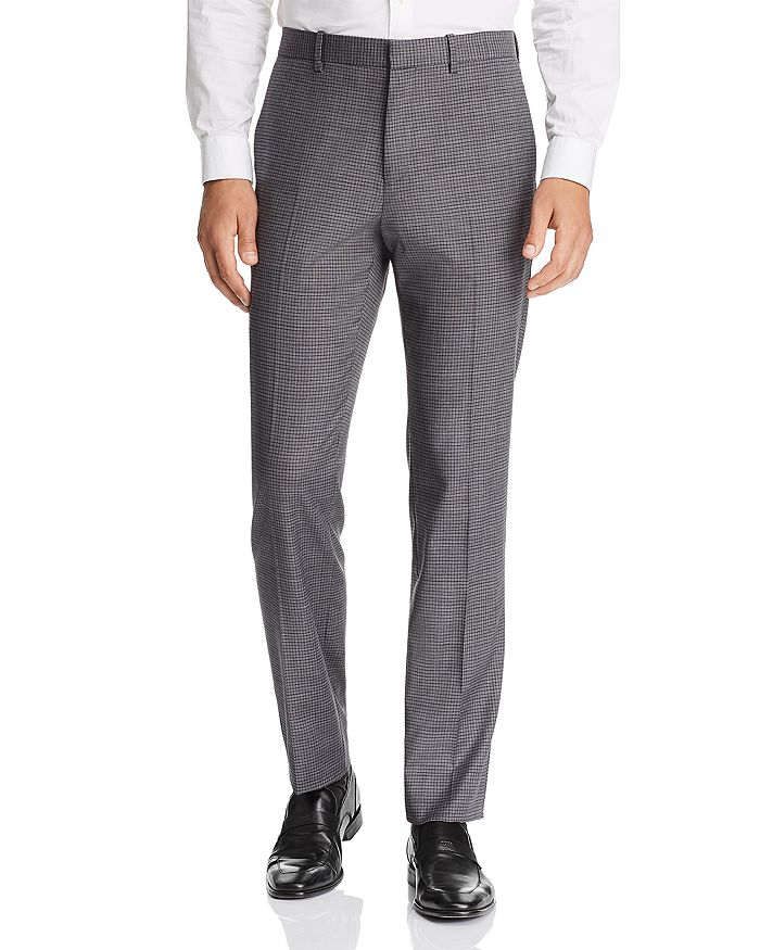 Theory - Mayer Micro-Check Slim Fit Suit Pants