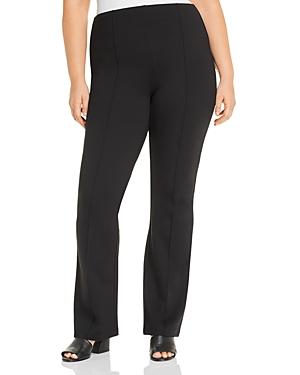 Elysse Wide-Leg Ponte Pants