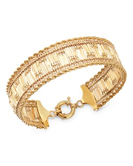 Bloomingdale's - Double Rope Chain Bracelet in 14K Yellow Gold - 100% Exclusive