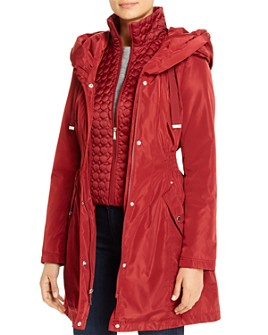 Laundry by Shelli Segal - Fit-and-Flare Raincoat