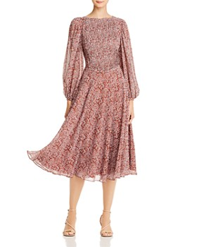 Fame and Partners - Printed Midi Dress