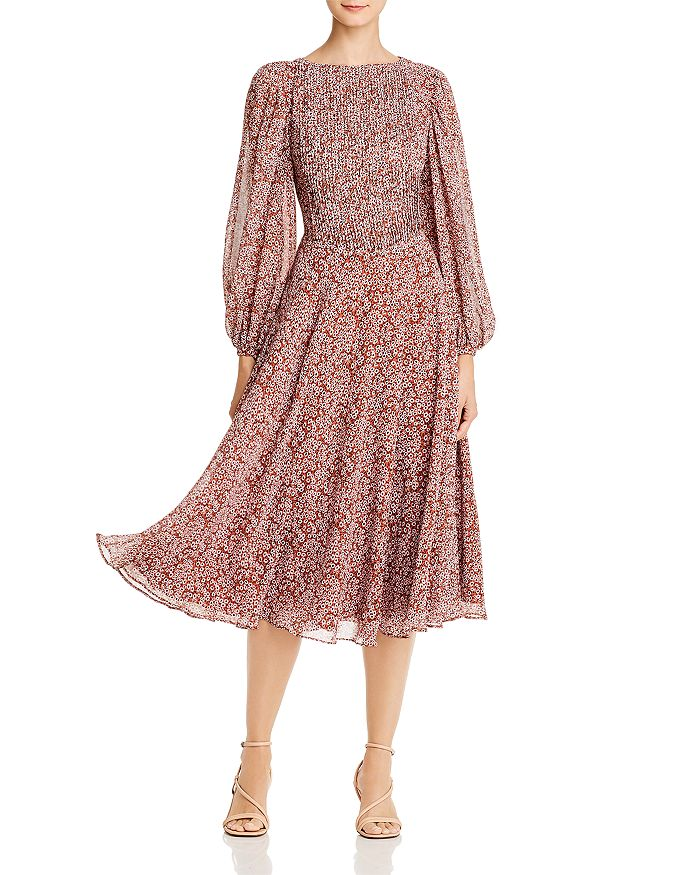 Fame and Partners - Printed Midi Dress