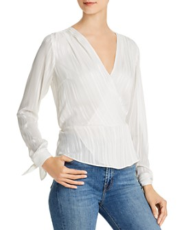 GUESS - Adiva Crossover Peplum Top
