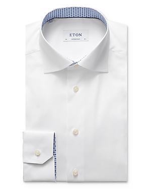 Eton Fan & Flower Contemporary Fit Dress Shirt