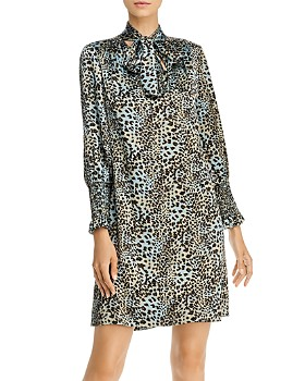 Rebecca Taylor - Lynx Silk Shift Dress - 100% Exclusive