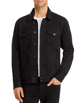 PAIGE - Regular Fit Scout Jacket in Chilled Black