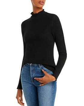 Lost and Wander - Morengo Ribbed Mock-Neck Top - 100% Exclusive