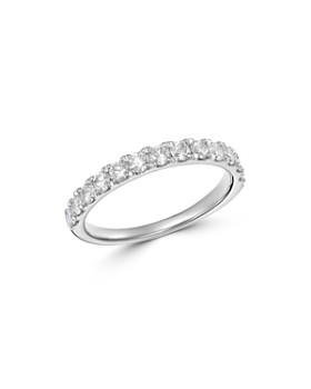 Bloomingdale's - Diamond Classic Band in 14K White Gold, 0.75 ct. t.w. - 100% Exclusive