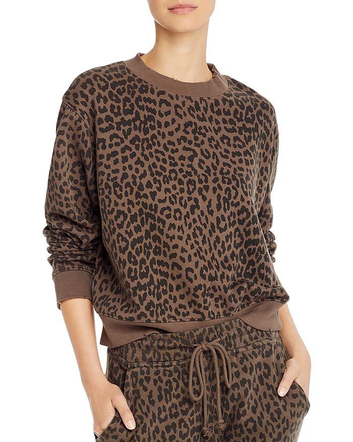 Pistola - Ami Leopard Print Sweatshirt