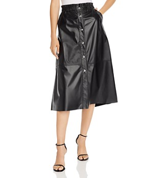 BLANKNYC - Faux Leather Midi Skirt