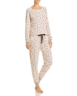PJ Salvage - Love Skulls Long-Sleeve Top & Pajama Pants - 100% Exclusive