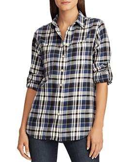 Ralph Lauren - Plaid Roll-Sleeve Shirt