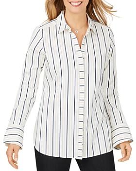 Foxcroft - Kyla Non-Iron Striped Shirt