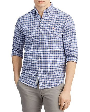Polo Ralph Lauren - Classic Fit Plaid Oxford Shirt